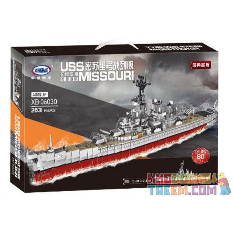 XingBao XB-06030 06030 Xếp hình kiểu LEGO Military Army Warship Tàu Chiến 2631 khối