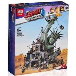 Lepin 45014 Sheng Yuan 1276 SY1276 Bela 11252 Nougao N45014 (NOT Lego The Lego Movie 70840 Welcome To Apocalypseburg! ) Xếp hình Chào Mừng Đến Với Ngày Tận Thế 3178 khối
