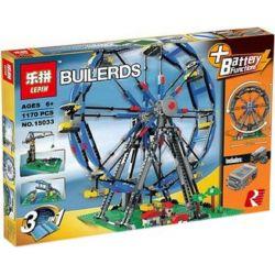 LEPIN 15033 Xếp hình kiểu Lego CREATOR Ferris Wheel Đu Quay Tròn đứng động Cơ Pin 1063 khối có động cơ pin