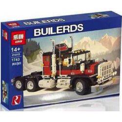 NOT Lego MODEL TEAM 5571 Giant Truck , LEPIN 21015 Xếp hình Xe Tải Khổng Lồ 1757 khối