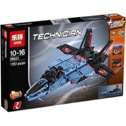 Lepin 20031 (NOT Lego Technic 42066 Air Race Jet ) Xếp hình Máy Bay Phản Lực Động Cơ Pin 1151 khối
