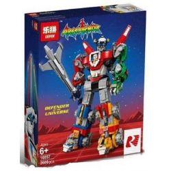 Bela 11011 Lari 11011 BLANK 18008 S7314 7314 KING 83034 LELE 39125 LEPIN 16057 LION KING 180054 Xếp hình kiểu Lego IDEAS Hundred Beasts Voltron Dũng Sỹ Hesman lắp được 5 mẫu 2321 khối