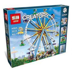 Lepin 15012 Lele 30000 (NOT Lego Creator Expert 10247 Ferris Wheel ) Xếp hình Đu Quay Tròn Đứng 2518 khối