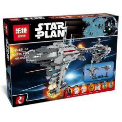 KING 81070 LEPIN 05083 SUPER 18K K20005 20005 Xếp hình kiểu Lego STAR WARS The Nebulon Model B Nebula-B Medical Frigate Tàu Y Tế Nebulon-B 1736 khối