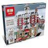 Lepin 15004 King 84004 (NOT Lego Creator Expert 10197 Fire Brigade ) Xếp hình Trụ Sở Cứu Hỏa 2313 khối