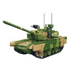 GUDI 6103 Xếp hình kiểu Lego CREATOR ZTZ-99A MBT 99A Main Battle Tank 1 28 Xe Tăng Chiến đấu 99A 1283 khối