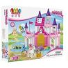 Jdlt Judalongtoys 5256A (NOT Lego Duplo Sofia Princess With Her Friends In Glorious Castle ) Xếp hình Tòa Lâu Đài Của Công Chúa Sofia 189 khối