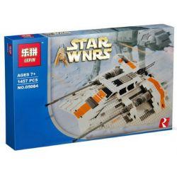LEPIN 05084 Xếp hình kiểu Lego STAR WARS Rebel Snowspeeder Snow Fighter Tàu Lướt Tuyết gồm 2 hộp nhỏ 1703 khối