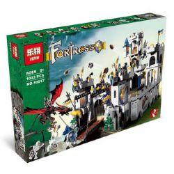 LEPIN 16017 Xếp hình kiểu Lego CASTLE King's Castle Siege King Castle's Battle Pháo đài Nhà Vua 973 khối
