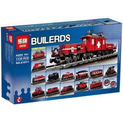 NOT Lego FACTORY 10183 Hobby Trains Vast Train , LEPIN 21011 Xếp hình Đoàn Tàu Yêu Thích 1080 khối