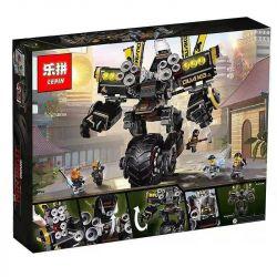 Bela 10800 Lari 10800 LELE 31100 LEPIN 06069 Xếp hình kiểu THE LEGO NINJAGO MOVIE Quake Mech Dadi Vika Cỗ Máy động đất Của Cole 1202 khối