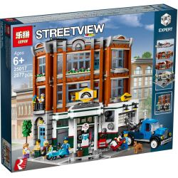 BLANK 11010 6012 6037 DINGGAO DG006 LEPIN 15042 LION KING 180138 SHENG YUAN SY 1271 Xếp hình kiểu Lego CREATOR EXPERT Corner Garage Hiệu Sửa Xe Góc Phố 2569 khối