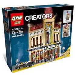 BLANK 99012 KING 84006 LELE 30006 LEPIN 15006 LION KING 180062 Xếp hình kiểu Lego CREATOR EXPERT Palace Cinema Deluxe Aeden Theater Rạp Chiếu Phim Palace 2196 khối