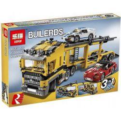 Lepin 24011 (NOT Lego Creator 6753 Highway Transport ) Xếp hình Xe Tải Chở Ô Tô 1294 khối