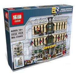 KING 84005 LEJI 99010 LELE 30004 LEPIN 15005 15041 LION KING 180061 Xếp hình kiểu Lego CREATOR EXPERT Grand Emporium Department Store Trung Tâm Thương Mại Lớn 2182 khối