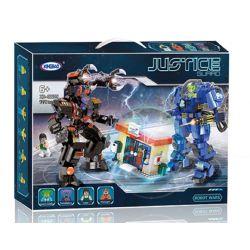 XINGBAO XB-02105 02105 XB02105 Xếp hình kiểu Lego JUSTICE GUARD Earth Justice Alliance Mechanic Wars Mô Hình Chiến đấu Anh Hùng MECH 1228 khối