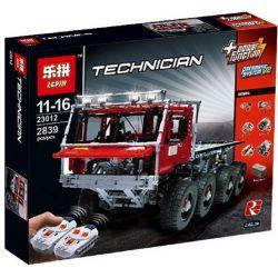 Lepin 23012 (NOT Lego Technic Tatra 813 Trial Truck ) Xếp hình Xe Tải Thử Nghiệm Điều Khiển Từ Xa 2839 khối