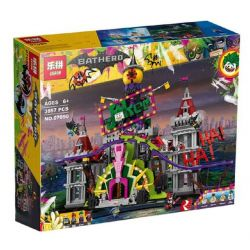 EAGLE 660301 LEPIN 07090 Xếp hình kiểu THE LEGO BATMAN MOVIE The Joker Manor Clown Manor Lãnh Địa Của Gã Hề Joker 3444 khối