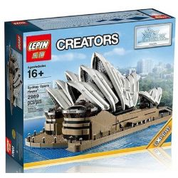 Lepin 17003 Lele 30002 (NOT Lego Creator Expert 10234 Sydney Opera House ) Xếp hình Nhà Hát Opera Con Sò 2989 khối