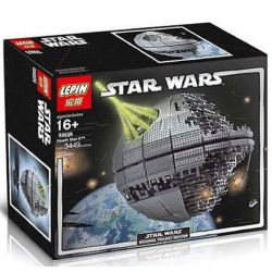 DK 5002 LEPIN 05026 MOULDKING 5002 Xếp hình kiểu Lego STAR WARS Death Star II Dead Star II Ngôi Sao Chết II 3441 khối