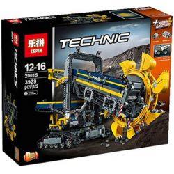 NOT Lego TECHNIC 42055 Bucket Wheel Excavator Small Excavator , BLANK 40028 KING 90015 LEPIN 20015 LION KING 180100 Xếp hình Máy Xúc Gầu Quay 3929 khối có động cơ pin