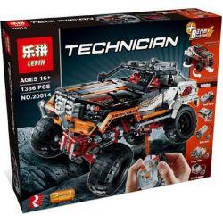 NOT Lego TECHNIC 9398 4x4 Crawler , LEPIN 20014 Xếp hình ô Tô địa Hình 1327 khối điều khiển từ xa