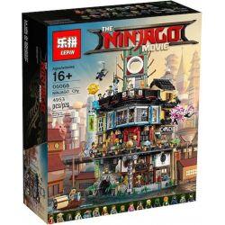 Lepin 06066 Bela 10727 Lele 31086 Sheng Yuan 981 SY981 Queen 89049 (NOT Lego Ninjago Movie 70620 Ninjago City ) Xếp hình Thành Phố Của Ninja 4953 khối