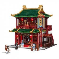 XINGBAO 01022 XB-01022 01022 XB01022 Xếp hình kiểu Lego CHINATOWN Roadhouse Lữ Quán Trung Hoa gồm 2 hộp nhỏ 3046 khối