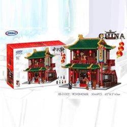 XingBao 01022 XB-01022 Xếp hình kiểu LEGO Chinatown Roadhouse Lữ Quán Trung Hoa gồm 2 hộp nhỏ 3046 khối