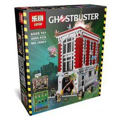 Lepin 16001 King 83001 (NOT Lego Ghostbusters 75827 Firehouse Headquarters ) Xếp hình Biệt Đội Săn Ma Tại Trụ Sở Trạm Cứu Hỏa 4695 khối