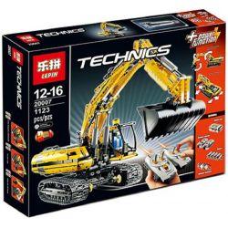 NOT Lego TECHNIC 8043 Motorized Excavator Electric Excavator , KING 90007 LEPIN 20007 QIZHILE 23017 6526 Xếp hình Máy Xúc đất Bánh Xích 1123 khối điều khiển từ xa
