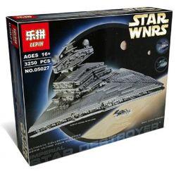 KING 81029 LEPIN 05027 Xếp hình kiểu Lego STAR WARS Imperial Star Destroyer Imperial Francisco Phi Thuyền Hủy Diệt Hành Tinh Của Hoàng đế 3096 khối