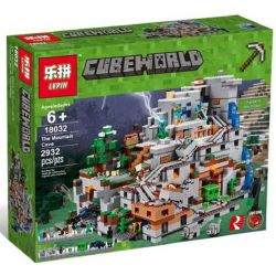 NOT Lego MINECRAFT 21137 The Mountain Cave My World Machine Cave , Bela 10735 Lari 10735 BLANK TM7421 7421 BLX 81062 81085 Decool 831 Jisi 831 LEDUO 76010 LELE 33067 LEPIN 18032 LEZI 93058 SHENG YUAN