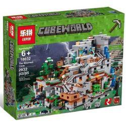 NOT Lego MINECRAFT 21137 The Mountain Cave, Bela 10735 Lari 10735 BLANK TM7421 7421 BLX 81062 81085 BRICKCOOL 831 LELE 33067 LEPIN 18032 LEZI 93058 SHENG YUAN SY SY947 SX 1012 TENMA TM7417 7417 Xếp hì