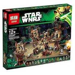 KING 81049 LEPIN 05047 LION KING 180016 XD 2027 Xếp hình kiểu Lego STAR WARS Ewok Village Intok Village Ngôi Làng Ewok 1990 khối