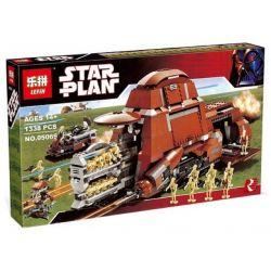 LEPIN 05069 Xếp hình kiểu Lego STAR WARS Trade Federation MTT Trade Alliance MTT Tàu Chở Robot Lính Bộ Binh 1330 khối