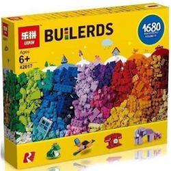 LEPIN 42017 Xếp hình kiểu Lego CLASSIC Bricks Bricks Bricks Classic Lego® Particle World Hộp Lắp Ráp Sáng Tạo Lớn 1500 khối