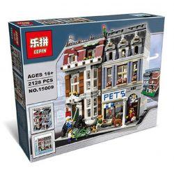 KING 84009 LEJI LJ99006 99006 LELE 30015 LEPIN 15009 LION KING 180065 Xếp hình kiểu Lego CREATOR EXPERT Pet Shop Cửa Hàng Thú Cưng 2032 khối
