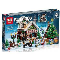 AUSINI 25611 LELE 39015 LEPIN 36002 Xếp hình kiểu Lego CREATOR EXPERT Winter Village Toy Shop Winter Toy Shop Winter Toy Store Cửa Hàng đồ Chơi Mùa đông gồm 2 hộp nhỏ 898 khối