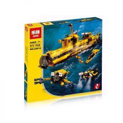 Lepin 24012 (NOT Lego Creator 4888 Underwater Exploration ) Xếp hình Tàu Lặn Thám Hiểm Đại Dương 673 khối