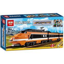 BLANK S7507 7507 LEPIN 21007 Xếp hình kiểu Lego CREATOR EXPERT Horizon Express Time And Space Express Tàu Cao Tốc Có Thể Lắp động Cơ Pin 1351 khối