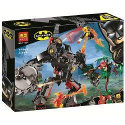Bela 11234 Lari 11234 LEPIN 07118 PRCK 64046 XINH 8911 Xếp hình kiểu Lego DC COMICS SUPER HEROES Batman Mech Vs. Poison Ivy Mech Batman Batman Machine Armor Trận Chiến Người Máy Batman Vs Poison Ivy 3