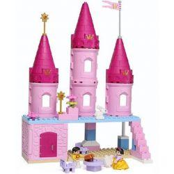 NOT Lego Duplo DUPLO 6152 Snow White's Cottage, HYSTOYS HONGYUANSHENG AOLEDUOTOYS  HG-1345 1345 HG1345 Xếp hình lâu đài của Bạch Tuyết 52 khối