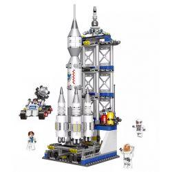 XINGBAO XB-16005 16005 XB16005 Xếp hình kiểu Lego Space Exploration Rocket Launching Khám Phá Vũ Trụ Bệ Phóng Tên Lửa 919 khối