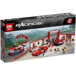 Bela 10947 Lari 10947 LEPIN 28019 SHENG YUAN SY 607019 6774 Xếp hình kiểu Lego SPEED CHAMPIONS Ferrari Ultimate Garage Super Racing Ferrari Ultimate Experience Center Gara Tân Tiến Của Siêu Xe Ferra