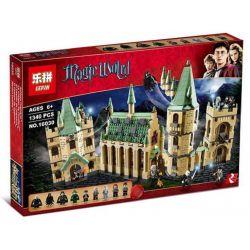 LEPIN 16030 Xếp hình kiểu Lego HARRY POTTER Harry Potter Hogwarts Castle Harry Potter Hogworth Castle Lâu đài Phù Thủy 1290 khối