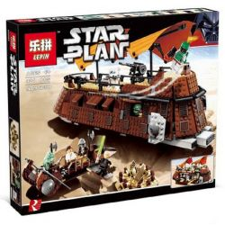 LEPIN 05090 Xếp hình kiểu Lego STAR WARS Jabba's Sail Barge Jabairo Tàu Có Buồm Của Jabba 781 khối