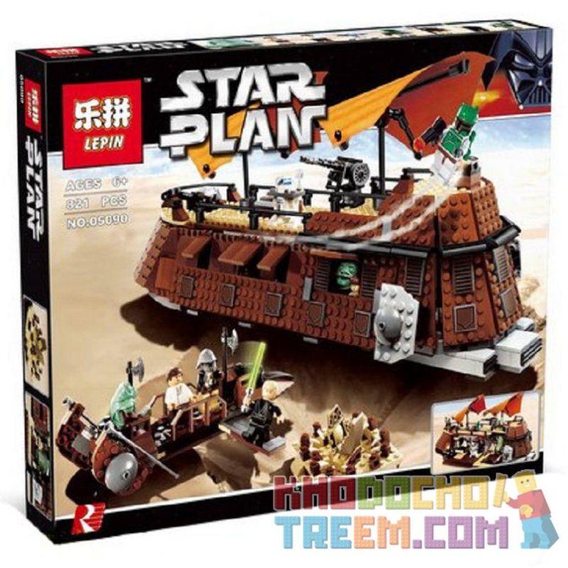 Lepin 05090 (NOT Lego Star wars 6210 Jabba's Sail Barge ) Xếp hình Tàu Có Buồm Của Jabba 821 khối