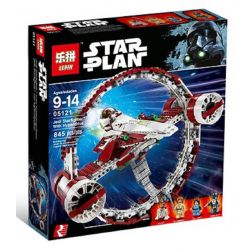 LEPIN 05121 Xếp hình kiểu Lego STAR WARS Jedi Starfighter With Hyperdrive Ultrasound Speed Jedi Star Fighter Tàu Chiến đấu Của Jedi Với động Cơ Siêu Tốc 825 khối