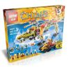 Lepin 04024 Bela 10358 (NOT Lego Legends of Chima 70227 King Crominus' Rescue ) Xếp hình Cuộc Giải Cứu Vua Crominus 863 khối